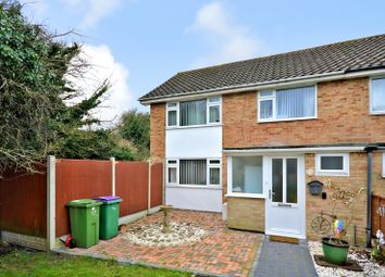 Thumbnail 3 bed end terrace house for sale in Eastfields, Folkestone, Kent