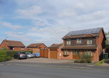 Thumbnail 4 bedroom detached house for sale in Polperro Drive, Allesley Green, Coventry