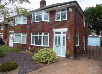 Thumbnail 3 bed semi-detached house for sale in Westwood Road, Heald Green, Cheadle