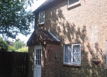 Thumbnail 1 bed terraced house to rent in Chevening Close, Crawley