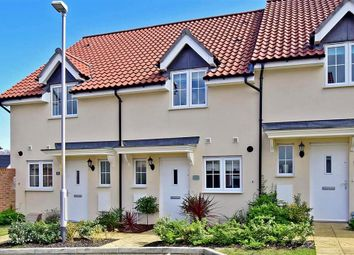 Thumbnail 2 bed terraced house for sale in Anglers Drive, Sholden, Deal, Kent