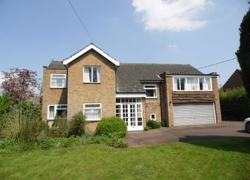 Thumbnail 5 bed detached house for sale in Station Road, Waddington, Lincoln