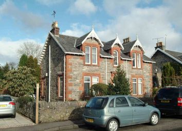 Thumbnail 1 bedroom flat to rent in School Road, Rhu
