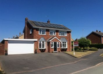 Thumbnail 4 bed detached house for sale in Glebe Lane, Gnosall, Stafford