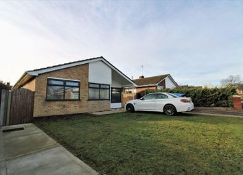 Thumbnail 3 bed detached bungalow for sale in Pennygate Drive, Lowestoft