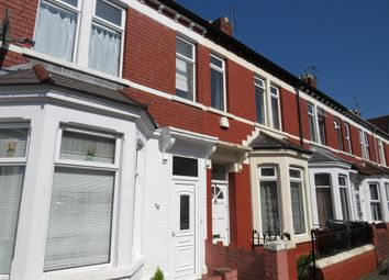 Thumbnail 3 bed property to rent in Brithdir Street, Cathays, Cardiff
