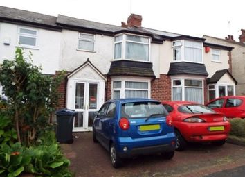 Thumbnail 3 bed terraced house for sale in Aubrey Road, Birmingham, West Midlands