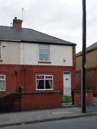 Thumbnail 3 bed terraced house to rent in Manor Road, Askern, Doncaster