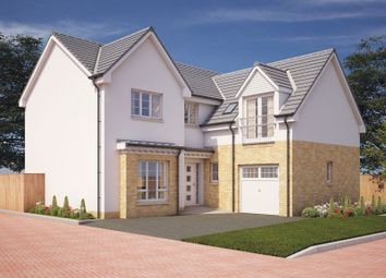 Thumbnail 5 bedroom detached house for sale in Montrose Gardens, Torrance, East Dunbartonshire
