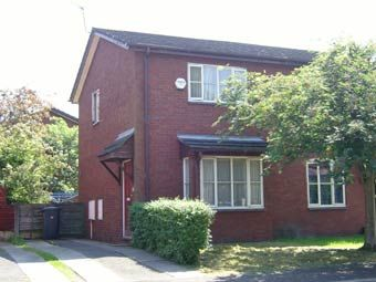Thumbnail 2 bed semi-detached house to rent in Dundonald Road, Didsbury