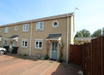 Thumbnail 3 bed end terrace house for sale in Takers Lane, Stowmarket