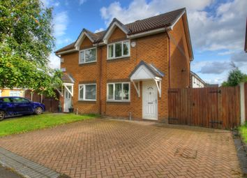 Thumbnail 2 bedroom semi-detached house for sale in Reading Close, Openshaw, Manchester