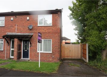 Thumbnail 2 bedroom semi-detached house for sale in Elmore Court, Nottingham