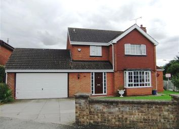 Thumbnail 3 bed detached house for sale in Hales Close, Bottesford, Scunthorpe