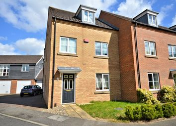 Thumbnail 4 bedroom town house for sale in Cygnet Road, Dereham