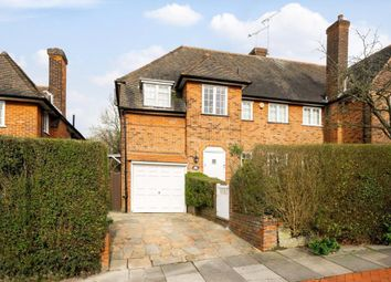 Thumbnail 4 bed semi-detached house for sale in Hill Top, Hampstead Garden Suburb, London
