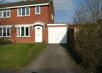 Thumbnail 3 bed semi-detached house to rent in Dreieich Close, Stafford