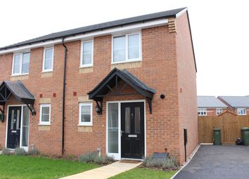 Thumbnail 2 bed semi-detached house for sale in Cheviot Close, Fernhill Heath