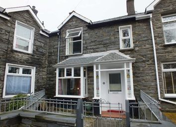 Thumbnail 2 bed terraced house for sale in Park Square, Blaenau Ffestiniog