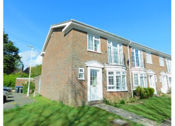Thumbnail 3 bed end terrace house for sale in Berkeley Square, Worthing