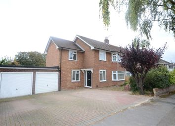 Thumbnail 4 bed semi-detached house for sale in Loggon Road, Basingstoke, Hampshire