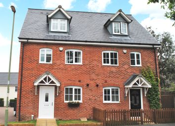 Thumbnail 3 bed semi-detached house for sale in Ash Road, Bishops Green, Newbury