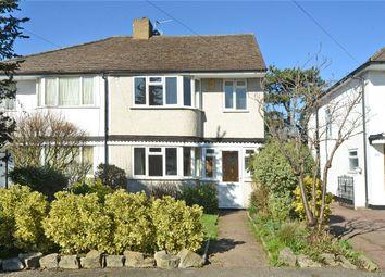 Thumbnail 4 bed semi-detached house for sale in Mortimer Crescent, Worcester Park