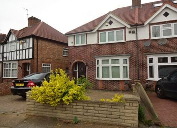 Thumbnail 3 bed semi-detached house to rent in Sutton Way, Heston, Hounslow