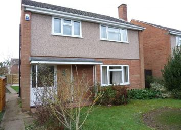Thumbnail 3 bed detached house to rent in 75 Hallow Road, Worcester, Worcestershire