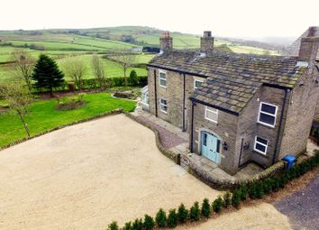 Thumbnail 4 bed farmhouse for sale in Hilltop Lane, Mellor, Stockport