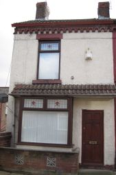 Thumbnail 1 bedroom terraced house to rent in Milton Road, Walton, Liverpool