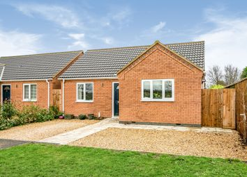 Thumbnail 2 bedroom detached bungalow for sale in Marriotts Drove, Ramsey Mereside, Huntingdon