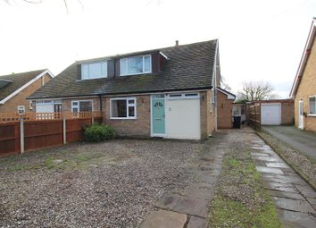 Thumbnail 3 bed semi-detached house for sale in Darland Lane, Rossett, Wrexham