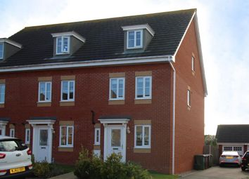 Thumbnail 4 bed end terrace house for sale in Chepstow Road, Corby