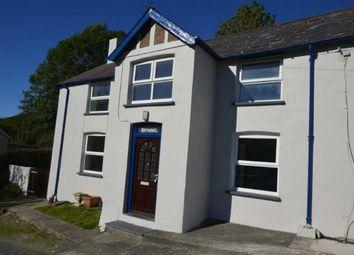 Thumbnail 3 bed semi-detached house for sale in Brynawel, Cwmerfyn, Aberystwyth