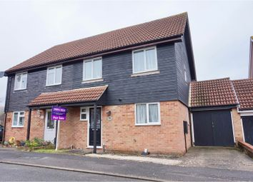 Thumbnail 4 bed semi-detached house for sale in Paterson Close, Basingstoke