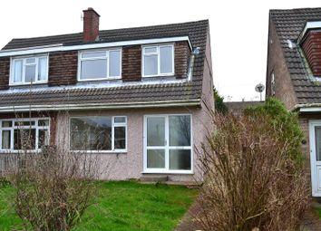 Thumbnail 3 bed semi-detached house for sale in Graig Y Bwldan, Dunvant, Swansea