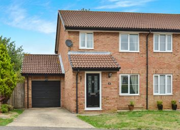 Thumbnail 3 bedroom semi-detached house for sale in Burgess Gardens, Newport Pagnell