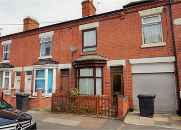 Thumbnail 2 bedroom terraced house for sale in Gipsy Road, Leicester