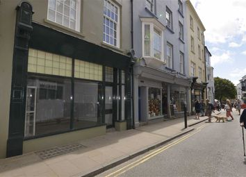 Thumbnail Property for sale in Retail Unit Chorton House, 21, High Street, Tenby, Pembrokeshire