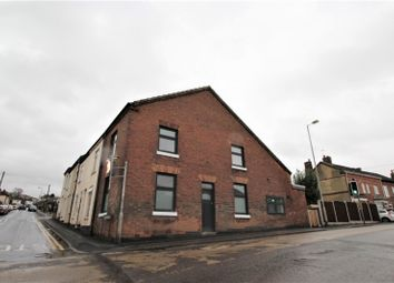Thumbnail 2 bed end terrace house for sale in Rosliston Road, Burton-On-Trent, Staffordshire