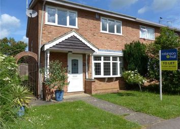 Thumbnail 3 bedroom semi-detached house to rent in Bourne Road, Riseley, Bedford