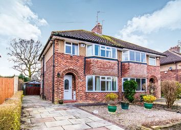 Thumbnail 3 bed semi-detached house for sale in Finney Drive, Wilmslow