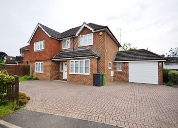 Thumbnail 4 bed detached house to rent in Bedford Crescent, Frimley Green, Camberley