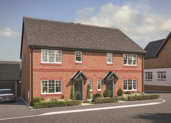 "Thumbnail 3 bed property for sale in ""The Kingham"" at Challow Road, East Challow, Wantage"