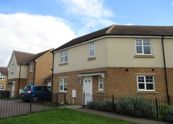 Thumbnail 3 bed semi-detached house for sale in Christie Road, Colyers Gardens, Corby