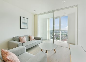 Thumbnail 1 bed flat to rent in Sky Gardens, Wandsworth Road, Vauxhall
