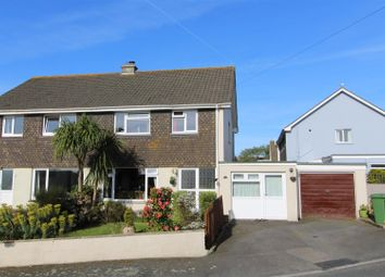 Thumbnail 4 bedroom semi-detached house for sale in Roskilling, Helston