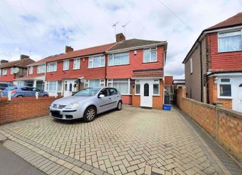 Thumbnail 3 bed semi-detached house to rent in Lansbury Avenue, Feltham