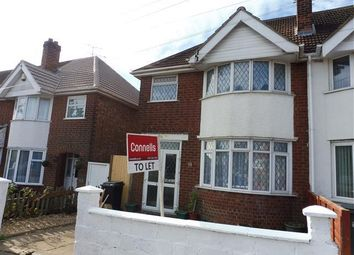 Thumbnail 3 bed property to rent in Somerset Avenue, Leicester